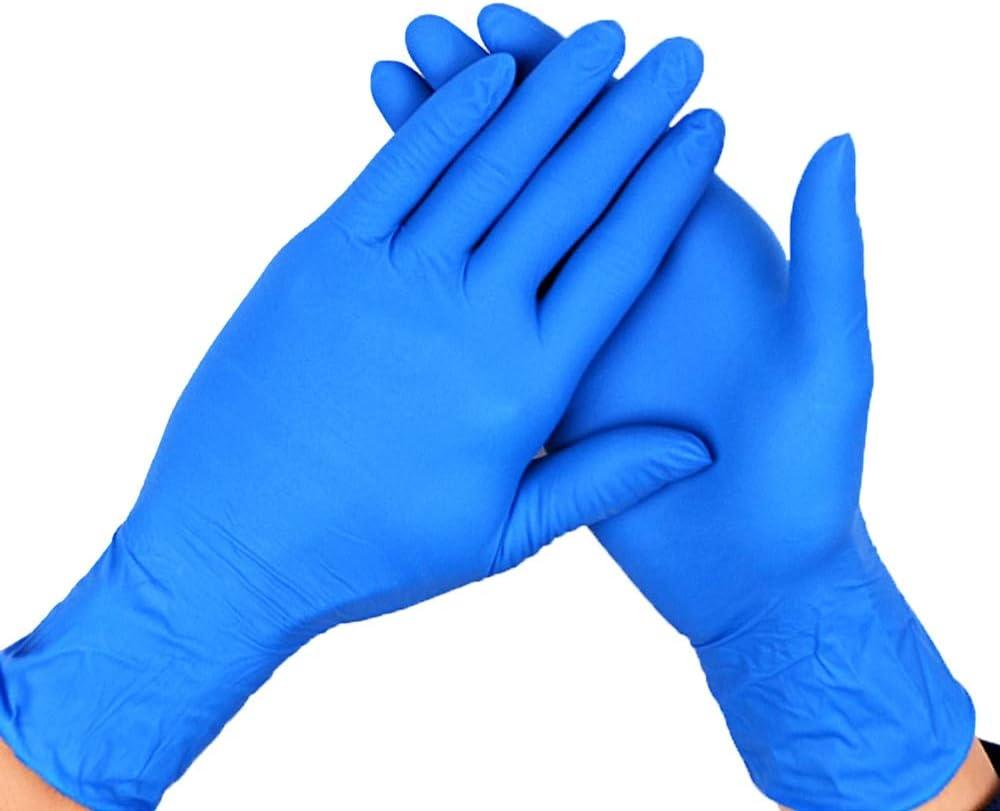 Senza Polvere E Ipoallergenico Adatti For Qualit/à // Pulizia Olio-resistenti E Resistenti Allusura Guanti Chirurgici Color : A1 box , Size : S per Pacco // 100 Guanti Al Nitrile Igiene Guanti