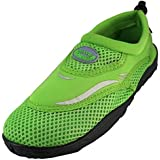 WavePro Women's Water Shoes with Elastic Mesh and Soft Removable Insole