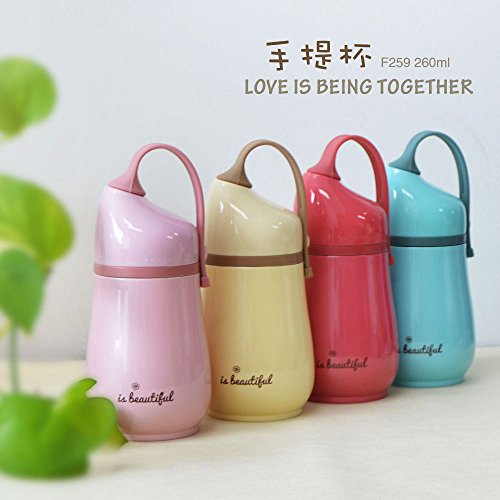 NPLE--Cute Kids Stainless Steel Vacuum Cup Insulated Flask Thermos Travel Coffee Mug