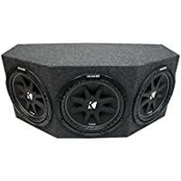 Kicker Comp C12 Triple 12 Subwoofer Loaded 1800 Watt Sub Box Enclosure New - Final 1.3 Ohm