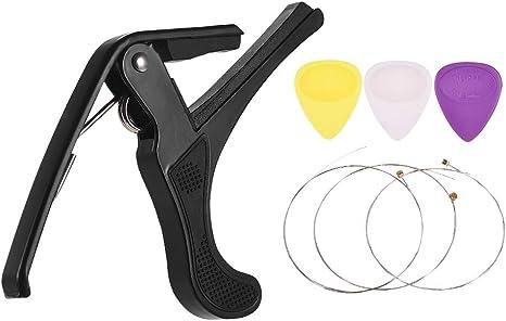 Conjunto de accesorios para instrumentos musicales Guitar Capo ...