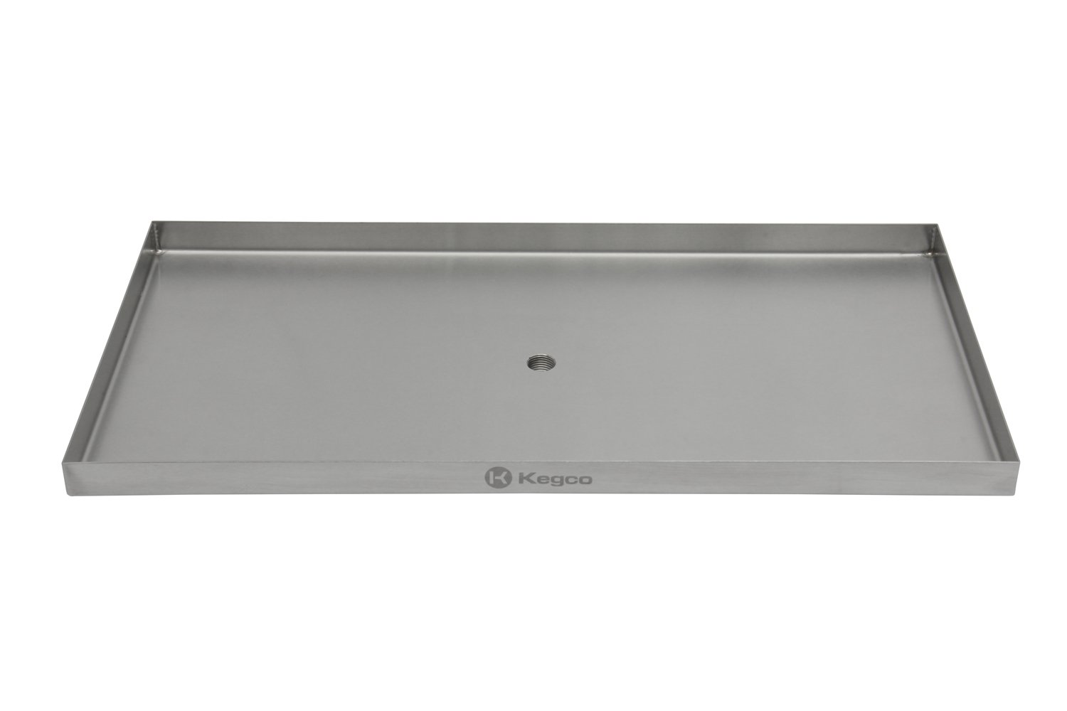 Kegco SESM-189D 18'' x 9'' Surface Mount Drip Tray with Drain by Kegco (Image #4)
