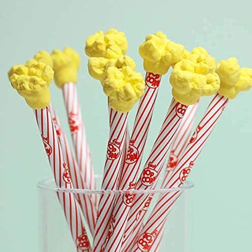 Grab Offers Cute Popcorn Pencil Erasers for Kids(Best for Birthday Return Gift) (12)