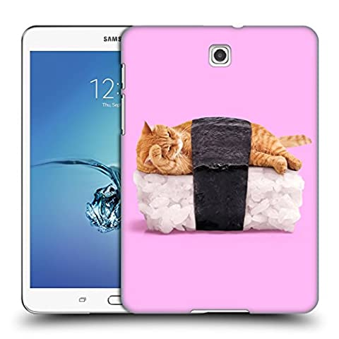 Official Paul Fuentes Sushi Cat Pastels 2 Hard Back Case for Samsung Galaxy Tab S2 8.0 (Sus Tab)