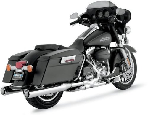 Vance & Hines Monster Rounds Slip Ons Chrome 16773 ()