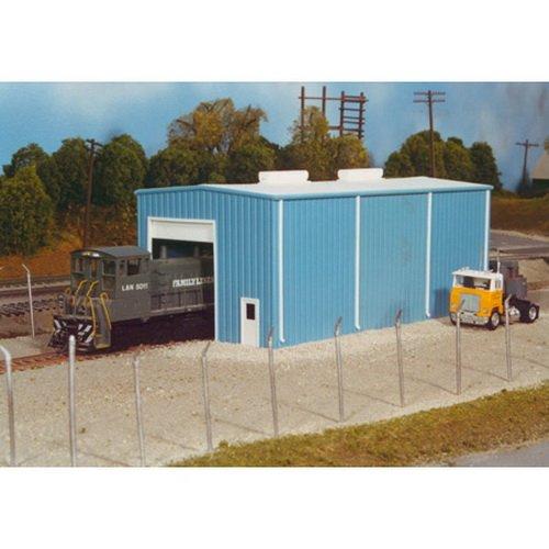 Pikestuff 541-5000 HO Modern Small Engine House Kit ()
