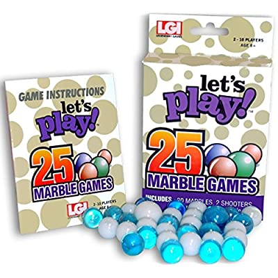 Lets Play 25 Games - Marbles: Toys & Games