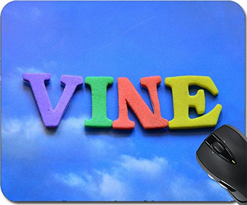 MSD Natural Rubber Mousepad Mouse Pads/Mat design: 29889775 WORD WINE ()