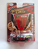 Juan Pablo Montoya #42 Dodge Charger 1/64 Car with 1/24 Magnet Hood Winners Circle Edition