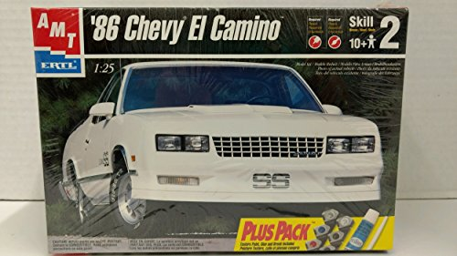 AMT 30074 1986 El Camino 1:25 Scale Plastic Model Kit - Requires Assembly (El Camino Model Kit compare prices)