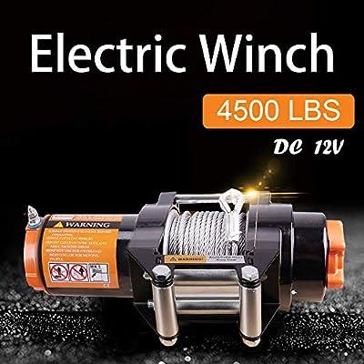 ORCISH 12V Electirc Winch ATV Kits 2PCS Wireless Remote Control …