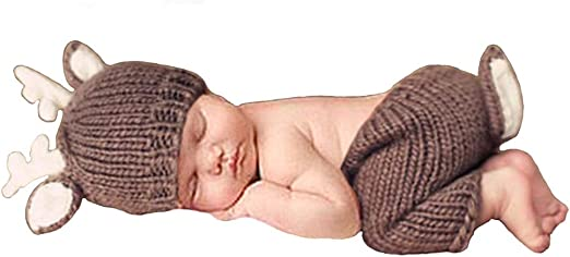 Simple grey sleepy hat  girl long tail hat  baby photography prop newborn sale