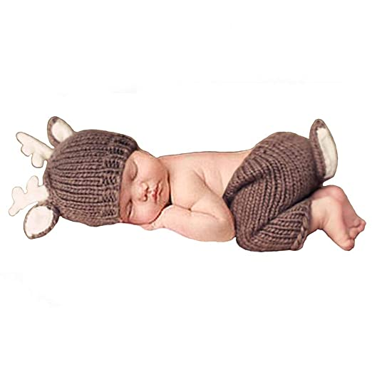 25bbb266bc489 Newborn Baby Photography Props Outfits Lovely Boy Hat Pant Girl