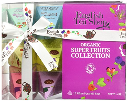 English Tea Shop Collection Pyramid, Super Fruit Tea, 24 Gram (English Fruit)