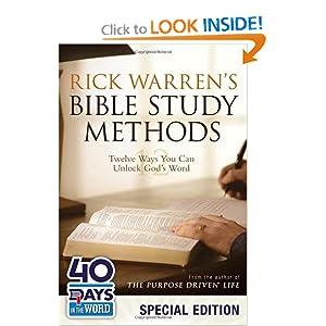 Rick Warren's Bible Study Methods: Twelve Ways You Can Unlock God's Word: Palm Format