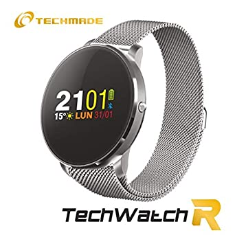 SMARTWATCH R1 METAL SIL: Amazon.es: Relojes