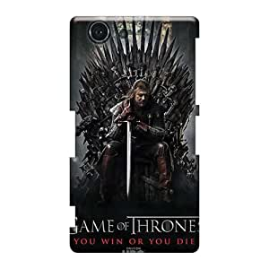 Perfect Hard Phone Cases For Sony Xperia Z3 Mini With Custom Fashion Game Of Thrones Tv Series Pictures CristinaKlengenberg