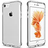 iPhone 7 Case Clear, iPhone 8 Case, Apriletter PC TPU Transparent Case for iPhone 7/8 Clear Case With Bumper (Clear)