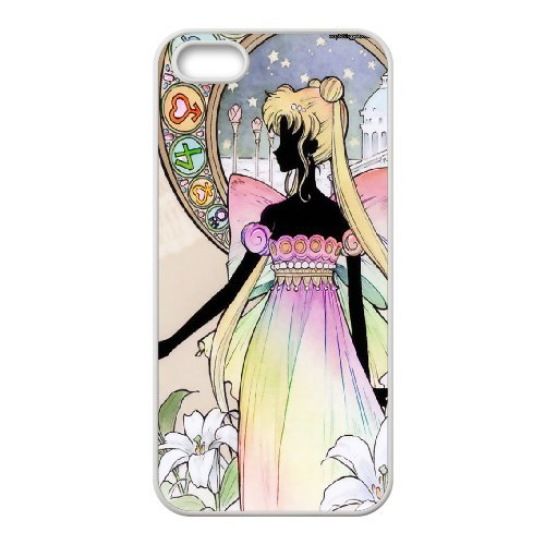 Sailor Moon Phone Case And One Free Tempered-Glass Screen Protector For iPhone 5,5S T138124