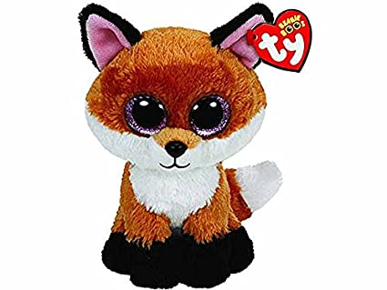 Crayola t36159 peluche Ty occhioni 15 cm Slick Volpe