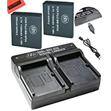 BM Premium 2-Pack of NP-50 Batteries and Dual Battery Charger for FujiFilm FinePix XF1, XP150, XP170, XP200, X10, X20, F605EXR, F660EXR, F665EXR, F750EXR, F770EXR, F775EXR, F800EXR, F850EXR, F900EXR