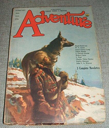 ADVENTURE FEBRUARY 28TH 1926 VOL. LVII NO. 3 [