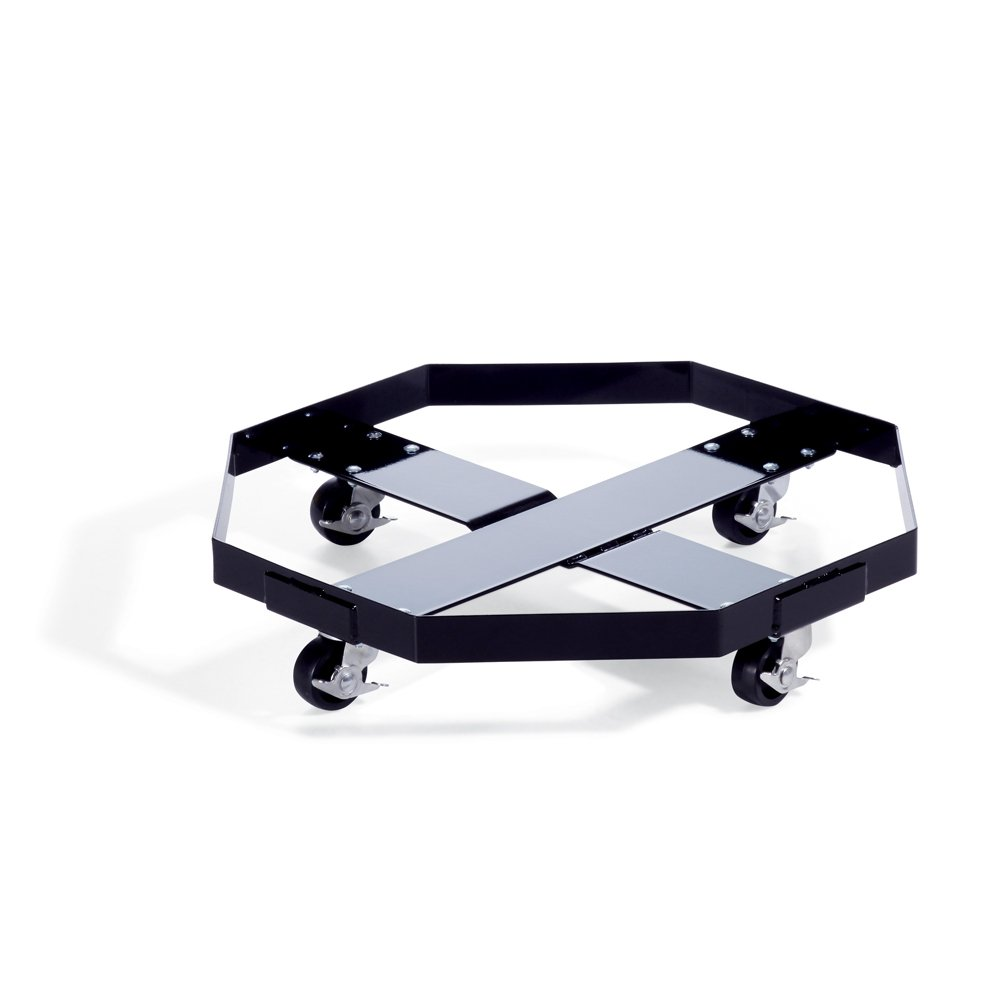 800 lb Load Capacity New Pig Drum Dolly 28 Dia x 6 H DRM484 28 Dia x 6 H New Pig Corporation Black For New Pig Drum Spill Tray