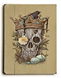 Artehouse 0004-3555-31 ''Nature's Reign - Planked Wood'' Wall Decor by Terry Fan, 25'' x 34'' x 1''