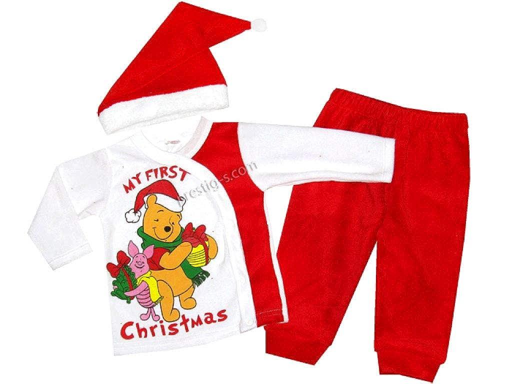 Svetli Baby Set Kombinationen Junge Langarm Weihnachten Winnie The Pooh Weihnachtsmütze