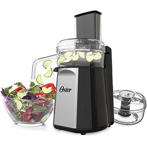 Oster Oskar 2-in-1 Salad Prep & Food Processor, Black FPS...