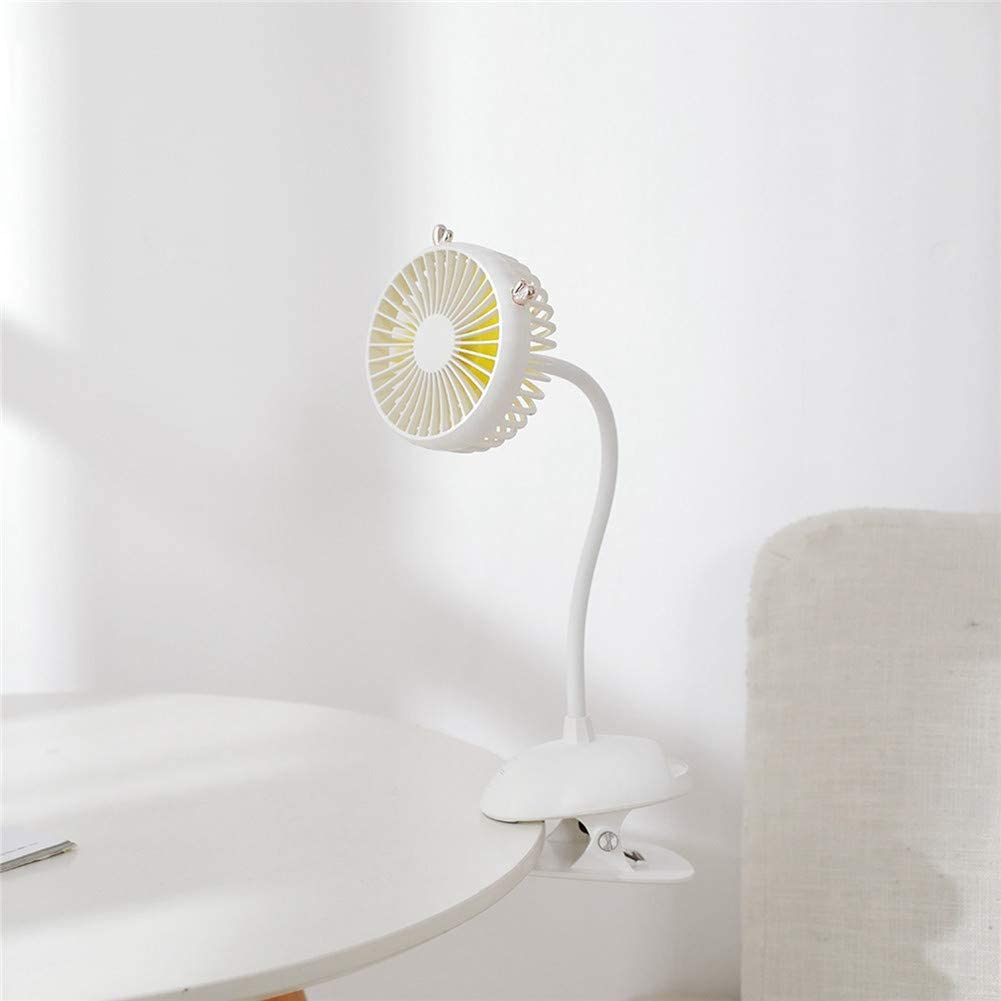 Mini Flexible Flexible Personal Office Electric Fans YAXuan USB Portable Clip On Stroller Fan