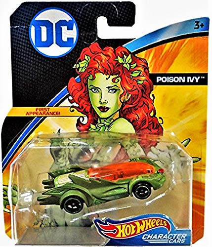 (Hot Wheels DC Universe Character Cars Poison Ivy First Appearance)