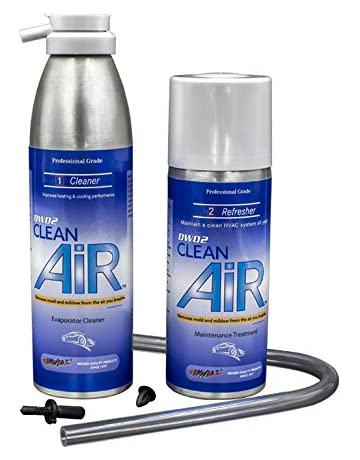DWD2 Clean AIR Premium AC Evaporator Coil Cleaner & Refresher (Regular)