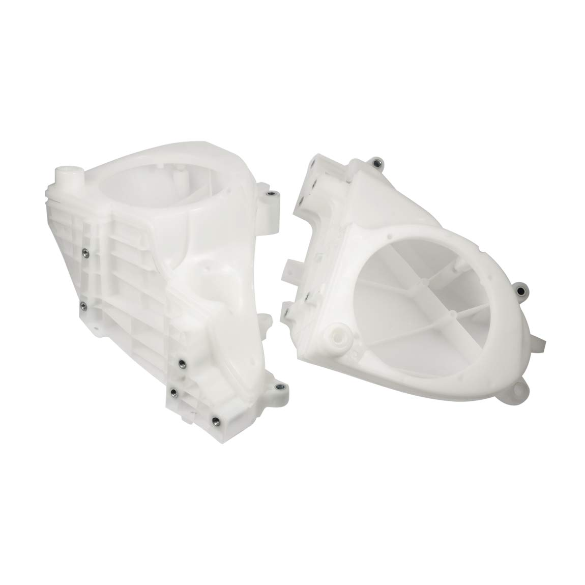 PBYM Inner Fairings Speaker Cover Enclosure Compatible for Harley Davidson Electra Glide Street Glide Ultra Limited 2014-2019 Unpainted