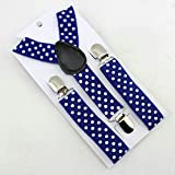 SaveStore Lovely Baby Boys Girls Clip-on Suspender Child Elastic Suspenders Cute Dots