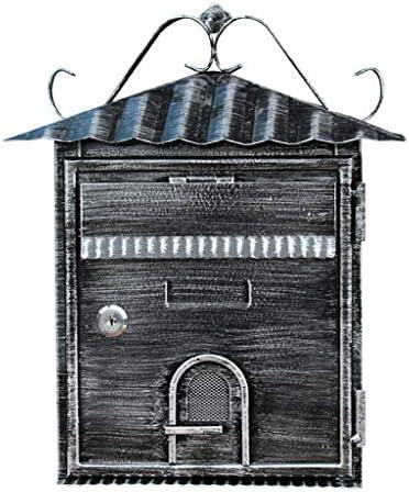 メールボックス ヨーロッパ別荘メールボックス屋外チケットボックスレトロ収納ボックスメールボックス壁推奨ボックス