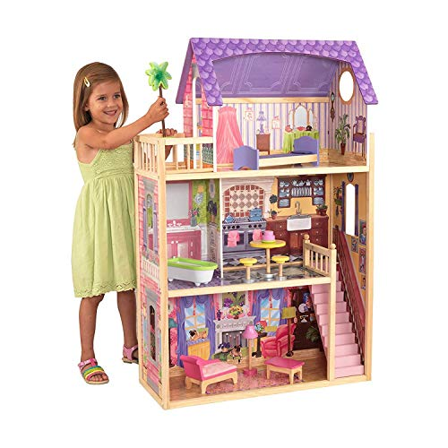 KidKraft Kayla Dollhouse + 10 Pieces of Furniture from KidKraft