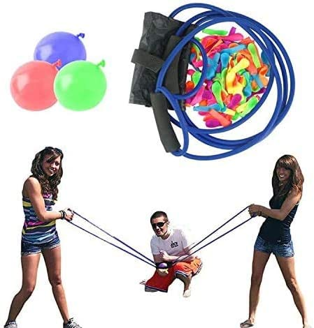 with 500 Water Balloons Water Balloon Launcher 400 Meters Long Range Nerf War,Snowball Launcher
