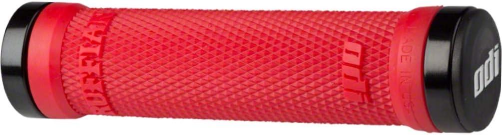 BLACK//RED ODI Lock-On MTB BMX bonus pack Ruffian