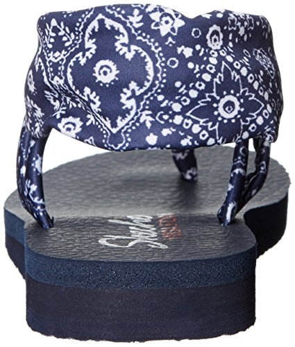 Meditation Women's Kicks Navy Bandana Studio Skechers 4aZ6nBqZ