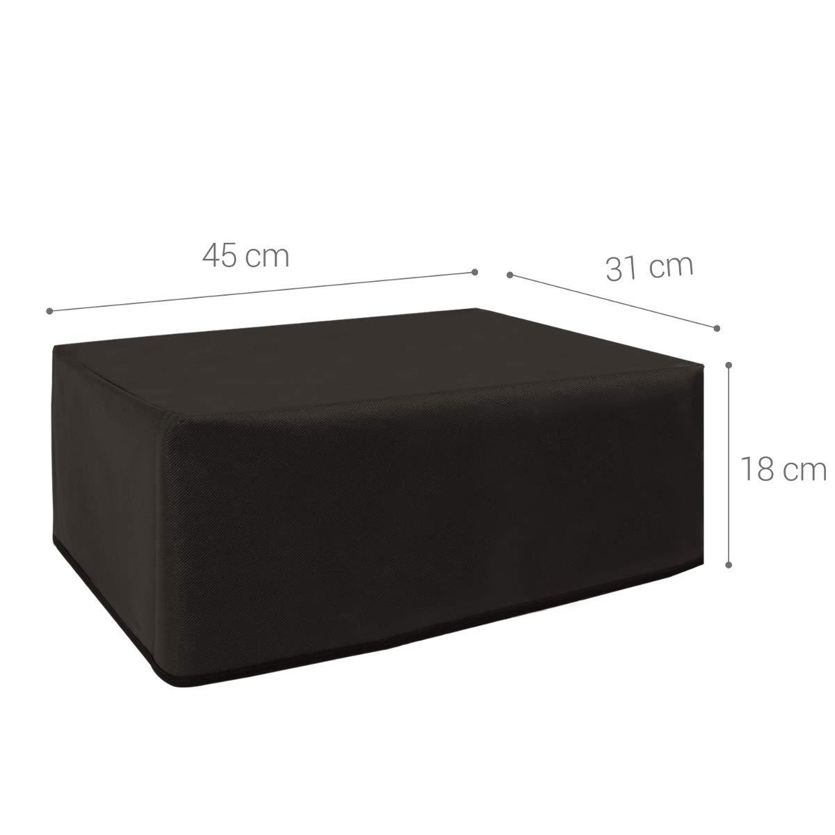 kwmobile Funda para Epson EcoTank ET-2600/2650 - Cubierta Protectora Antipolvo de Impresora - Forro Protector Gris Oscuro