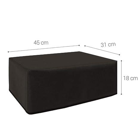 kwmobile Dust Cover for Epson EcoTank ET-2600/2650 - Printer Dust Protector - Dark Grey