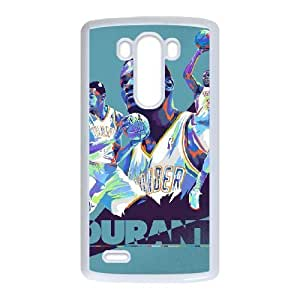 LG G3 Phone Cases White Kevin Durant Oklahoma City Thunder CXS072362