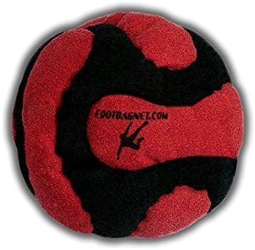 All Footbag Weighted at 2.1 Once Pellets /& Iron and Full 100/% Raw Iron Collection of 8 Pro Footbags Hacky Sack Sand /& Iron