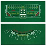 Brybelly Blackjack and Craps Felt Layout