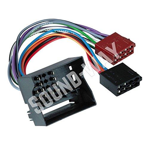 BMW-Cable adaptador ISO de conexió n de radio de coche para BMW X3 M3////Z8 Z4 X5 Sound-Way