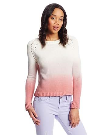 BB Dakota Women's Ayanna Dip Dye Long Sleeve Sweater, Cheeky, X-Small