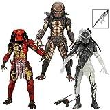 Neca Predators 7 Inch Action Figures Series 7 - Set of 3