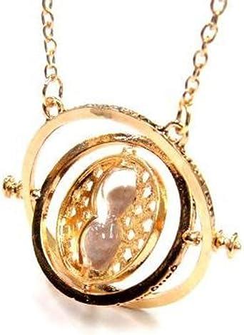 Imagen deAofocy Harry Potter - Collar con colgante de arena con reloj de arena para disfraz