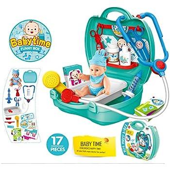 Amazon Com Junior Doc Mcstuffins Get Better Baby Cece Set